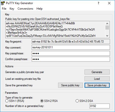 Transferts SCP sans mot de passe